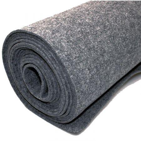 Teppich-Filz - Grau - 200 x 500 cm