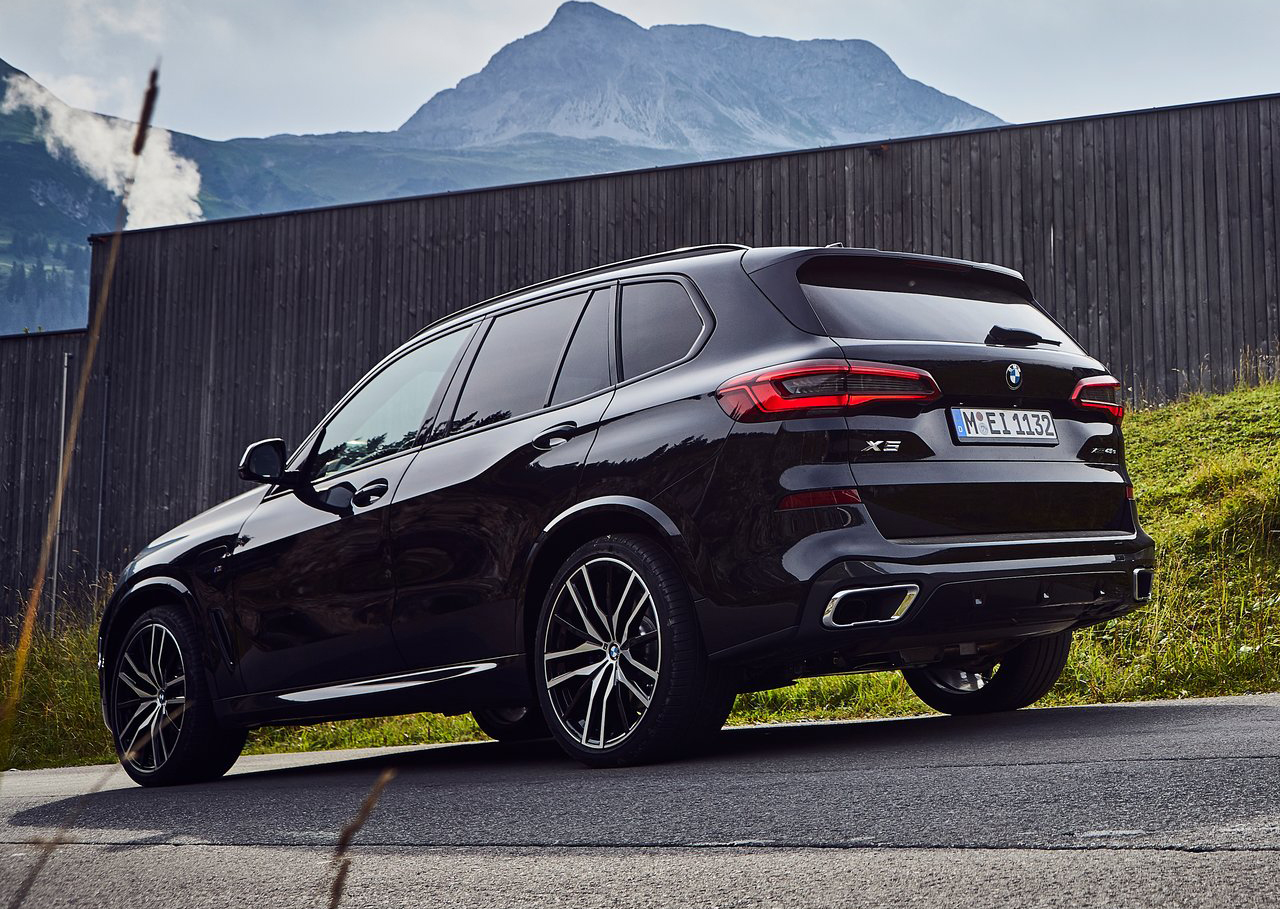 Neu! Autofussmatten für den BMW X5 xDrive45e 2019->