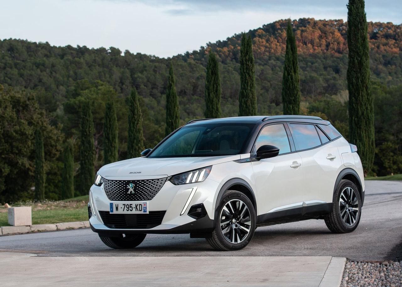 Neu! Autofussmatten für den Peugeot e-2008 2020->