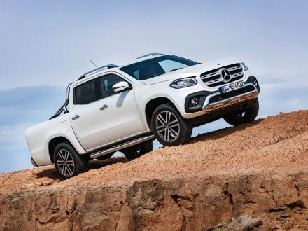 Neu! Autofussmatten für den Mercedes X-Klasse (W470) 2017->