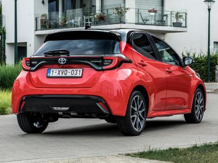 Neu! Autofussmatten für den Toyota Yaris 2020->