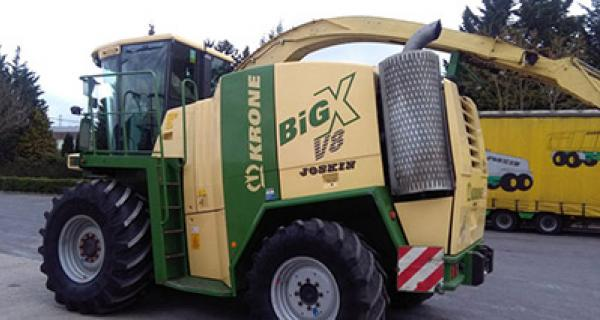 Krone BIG X 600 Kabinenmatte 2012 >